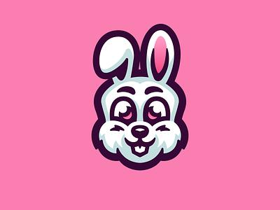Bunny illustration logo mascot chibi cute animals cute rabbit bunny