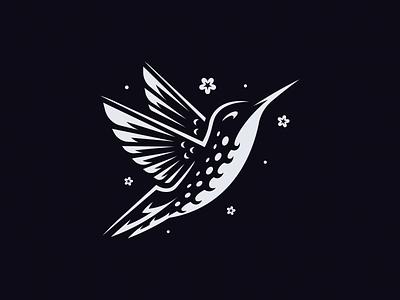 Hummingbird design illustration bird flower hummingbird