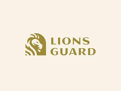 Lions Guard mark king cat tiger logo guard gate