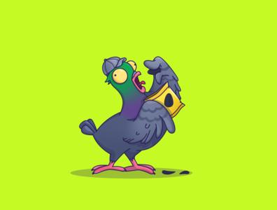 Cool pigeon