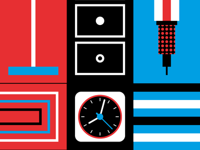 RCasa Cover WIP modernism bauhaus clock rams braun pencil furniture modulor geometry cover