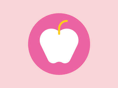 Apple health apple fruit food infographic icons