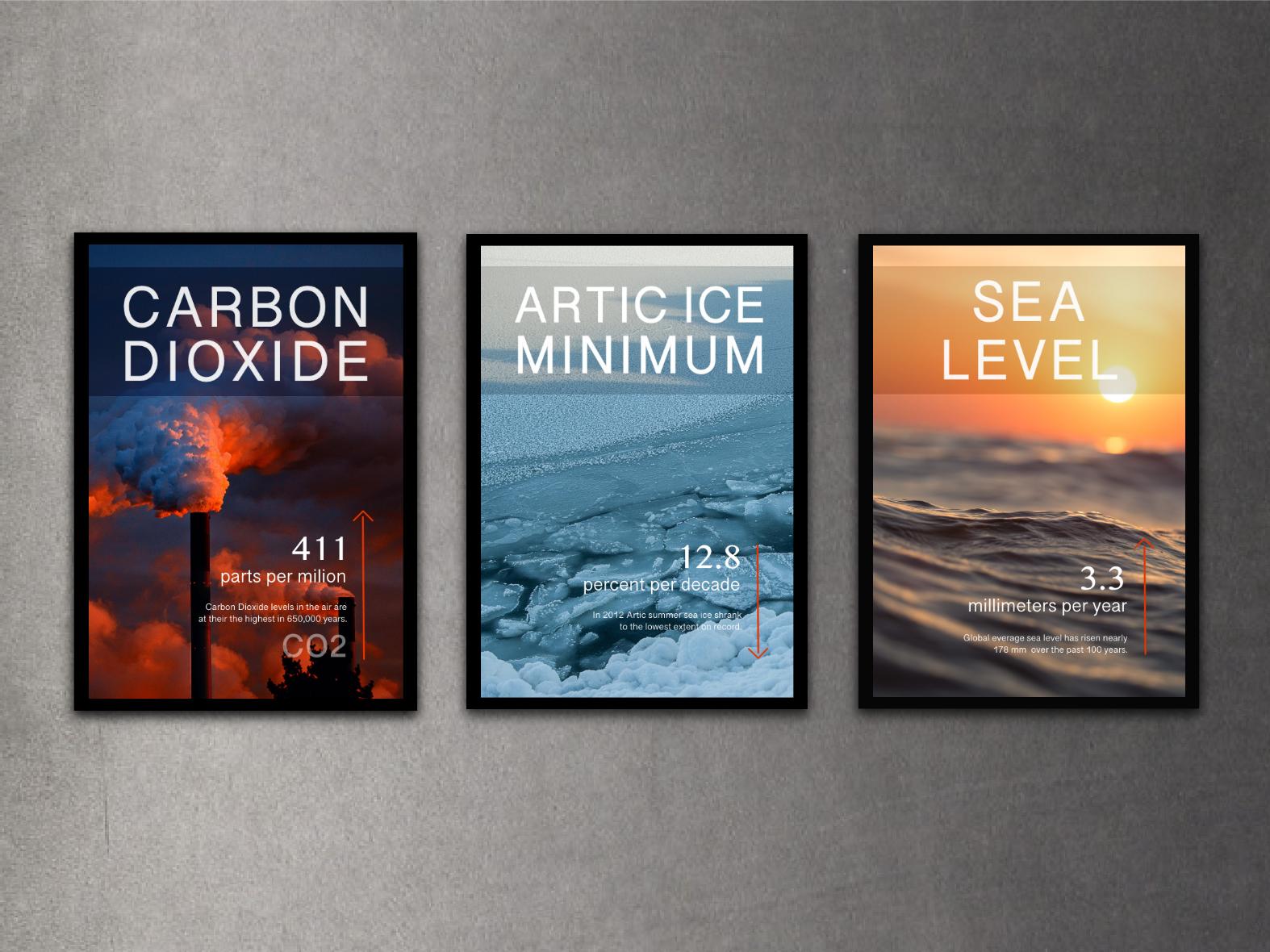 Posters Climate Change planet earth planet poster design poster globalwarming climatechange adobe illustrator adobe photoshop
