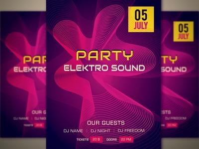 Party Poster ES