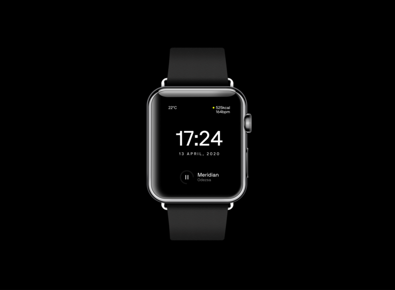 An apple watch—face exploration