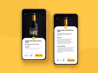Single product page UI singlepage single product ecommerce artdirection app visual design mobile uiux dailyui ui