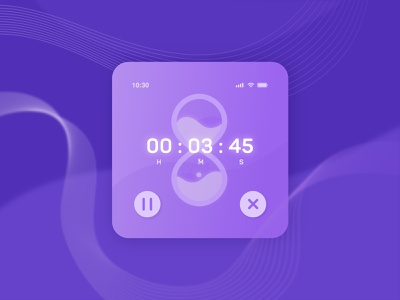 Countdown Timer design userinterfacedesign userinterface countdowntimer countdown illustration artdirection visual design uiux dailyui ui