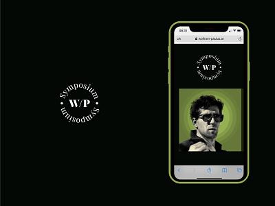 Wolfram Paulus / Digital Symposium - Webdesign and Branding website design brand identity artdirection design logo webdesign website branding visual design ui