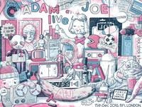 Adam & Joe Poster, BFI, London