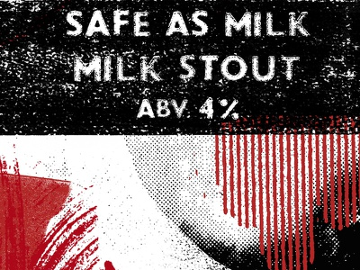 Safe As Milk Festival - Beer Pump Clip 3 wales brewery conwy festival milk as safe clip pump beer