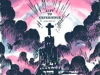 Lift To Experience - Green Man 2017 Poster