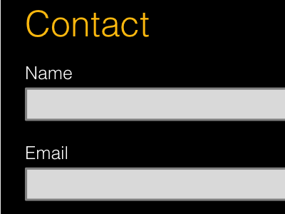 Contact form form contact form