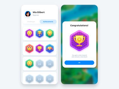 Reward Page icon design icon set icons web game design game art games android reward page reward mobile ios app design mobile design app design ios illustration app design ux ui