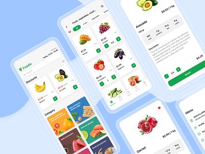 Foodie - Delivery App foodie food food app delivery app delivery sketch figma design figma ios app design mobile mobile design app design ios app design ux ui