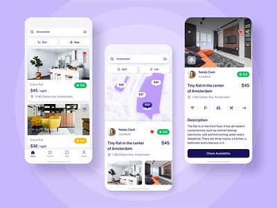 Rental App travel app travel figma design figma rental app rental ios app design ios app design mobile design mobile app design ux ui