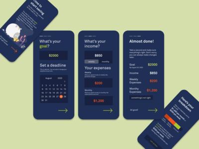 DailyUI Day 4 - Calculator flat app ui design dailyui challenge daily ui dailyui