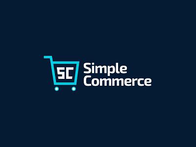 Simple Commerce Logo Branding cart exo 2 branding logo statamic ecommerce e-commerce