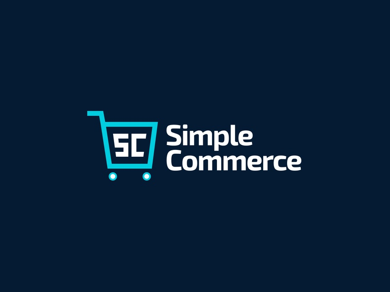 Simple Commerce Logo Branding cart exo 2 branding logo statamic ecommerce e-commerce