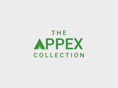 The Appex Collection Logo android apps logo design roboto branding design clean modern sketch appex apex apps logo