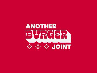 Another Burger Joint vintage logo retro illustration retro badge wordmark logo burger logo branding restaurant branding food restaurant burger restaurant burger