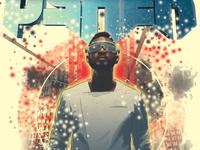 Usher - Space Illustration
