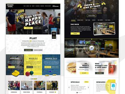 Adult Game Bar Design Concept web design mockup photoshop concept design concept