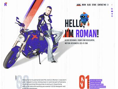 Roman V3000 Design web design portfolio personal