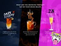 Drink Touch Screen App
