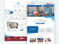 Rehab Website Design Concept