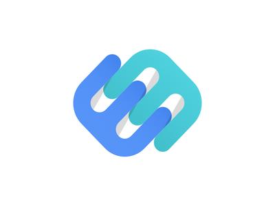 Logo Icon lettering vector type flat design typography logotype logo identity icon branding