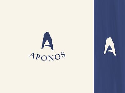 Logo test lettering typography a finance hand vector logotype logo identity icon flat design branding