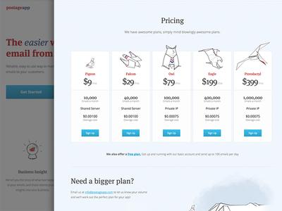 PostageApp Site Redesign