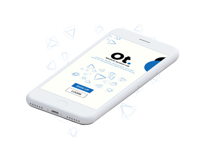 Ot. Medical System Lab. Apps ux ios iphone screen design interface login ui medical apps