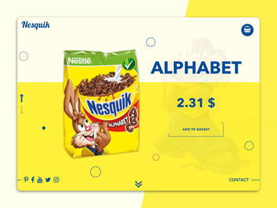 Nesquik interface app flat clean website invite dashboard sweet landing page ui web design web