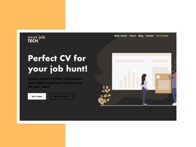 SAAS Landing Page (Web Design)