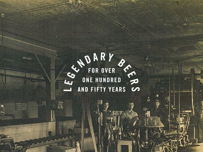 It's Gonna be Legen - Wait for it - Dary badge typography brewery brewing vintage historic photgraphy lockup type beers legendary