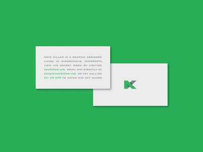Bet You Won't Try to Catch me Off Guard recycled sustainability sustinable business card design typography logo stock paper cotton business cards