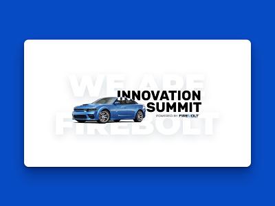 Innovation Summit '20 firebolt dodge fiat automotive covid19