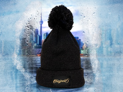 Frosty Toque Ad toque hat frost ice cold beanie toronto tdot