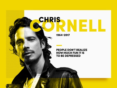 #F2D435 - Tribute to Chris Cornell