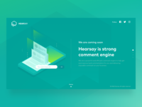 Hearsay Landing Page