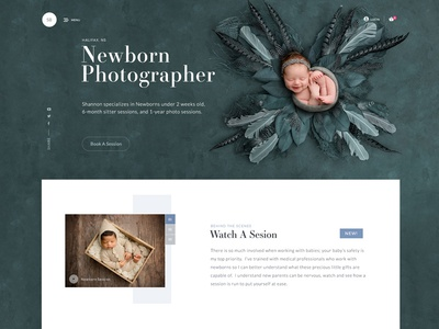 Baby Photographer Website photographer photography webdesign website