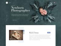 Baby Photographer Website