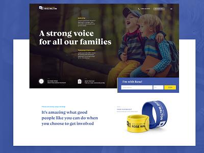 Campaign Website landingpage campaign webdesign website
