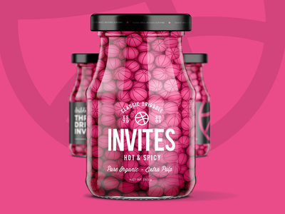 Dribbble Invites spicy invitation invite giveaway dribbble draft 3