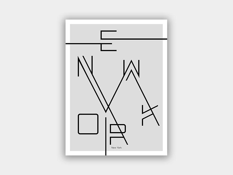 Experimental Typographic Poster