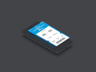 Altitude App Ticket Screen