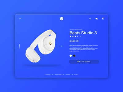 Beats Product Page Redesign