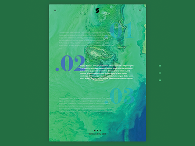 Text Based Portfolio Experiment - Hover Interaction ux ui overlay clean minimal experiment text portfolio website