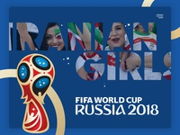 Iranian Girls in Worldcup 2018